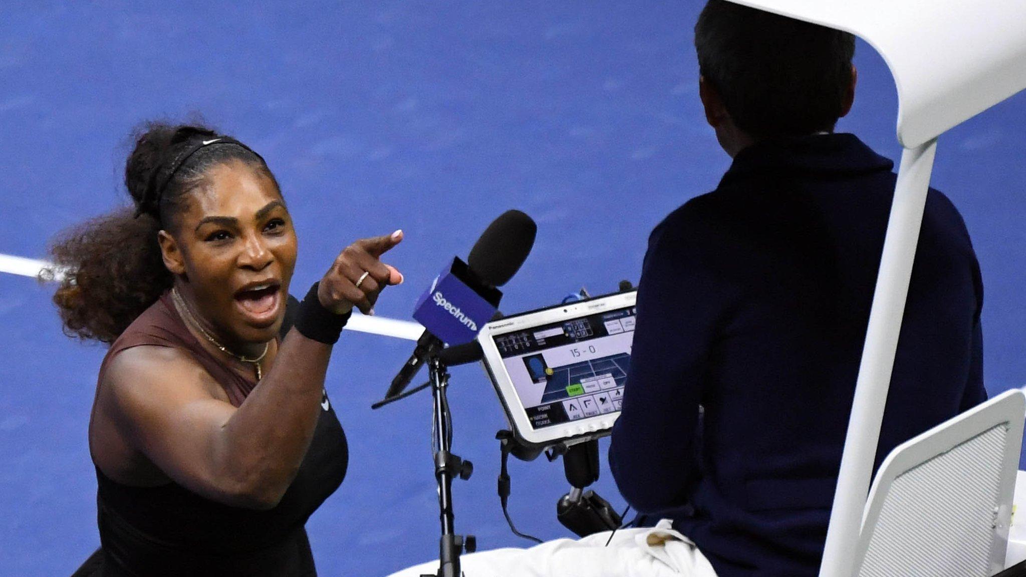 Williams accuses finals umpire of sexism