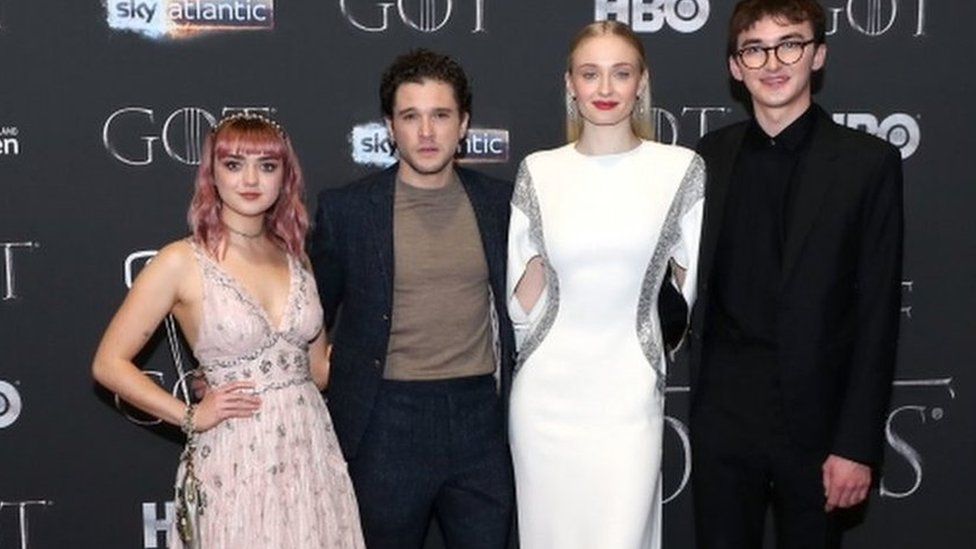 Stars attend Game of Thrones premiere