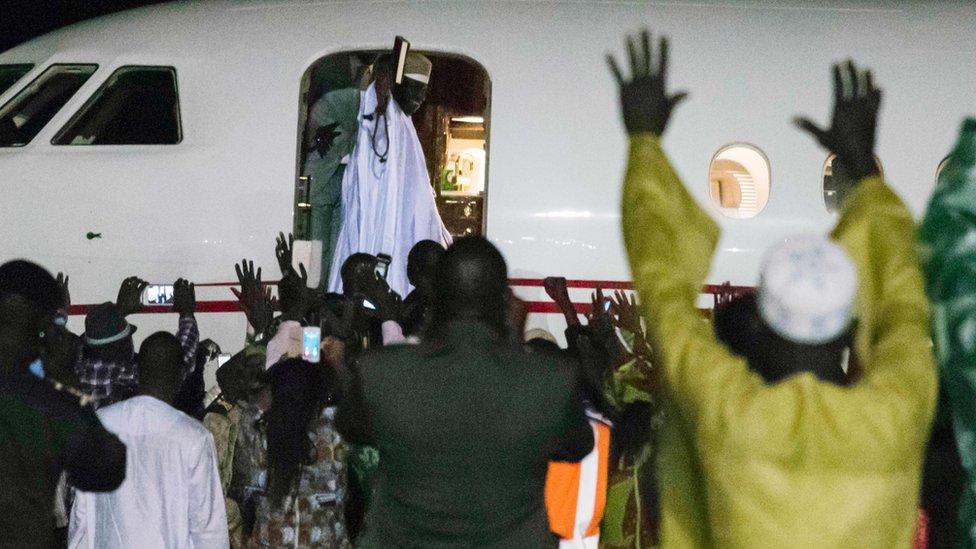 رئيس غامبيا السابق يحي جامع