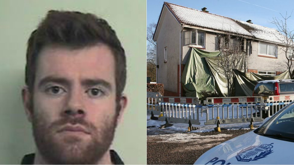 Blair Logan admits murdering brother in fire attack