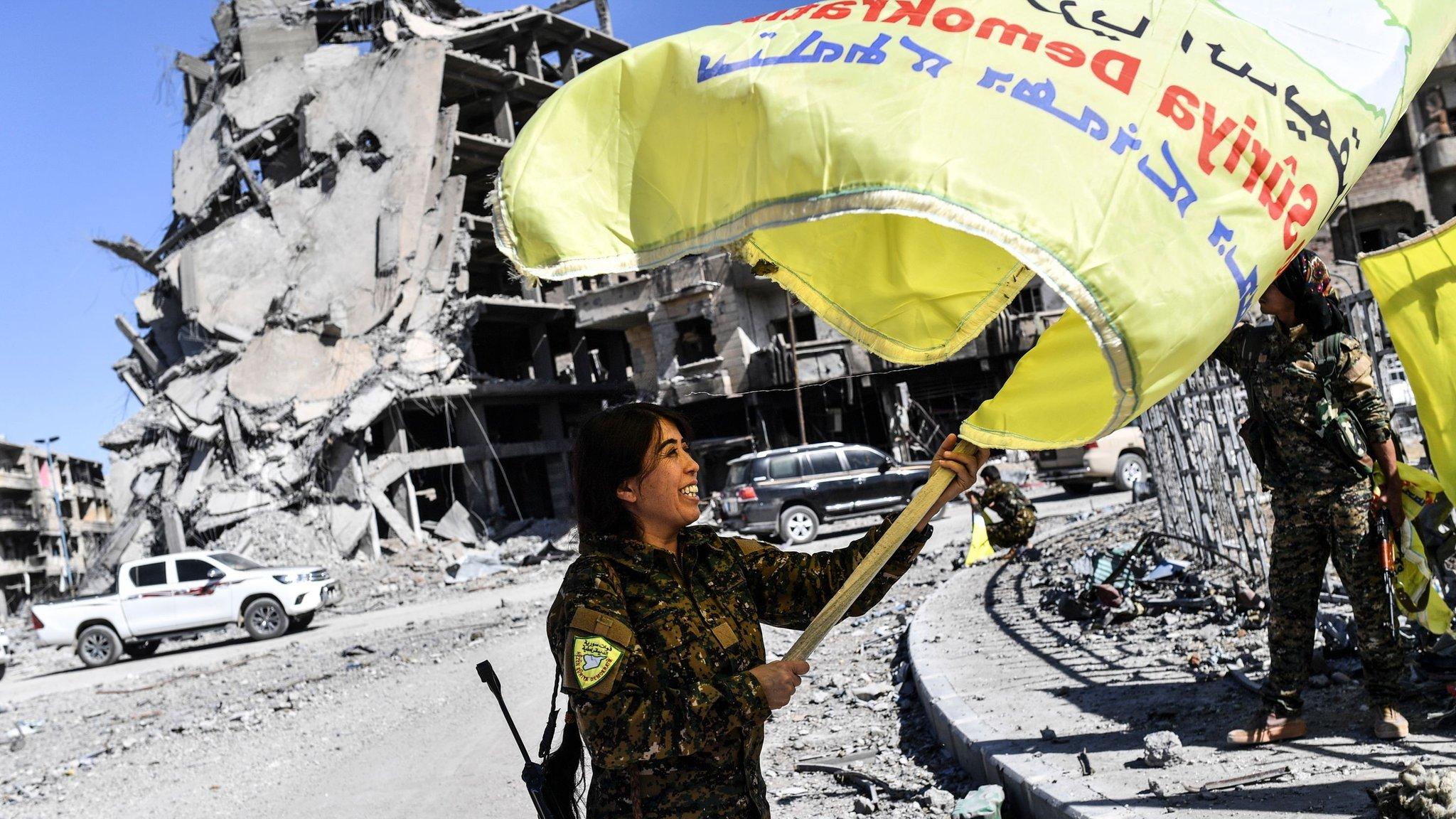 Ісламська держава втратила контроль над Раккою