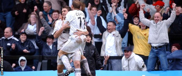 Swansea survive in Football League