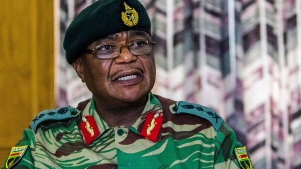 قائد الجيش في زيمبابوي قسطنطينو تشوينغا