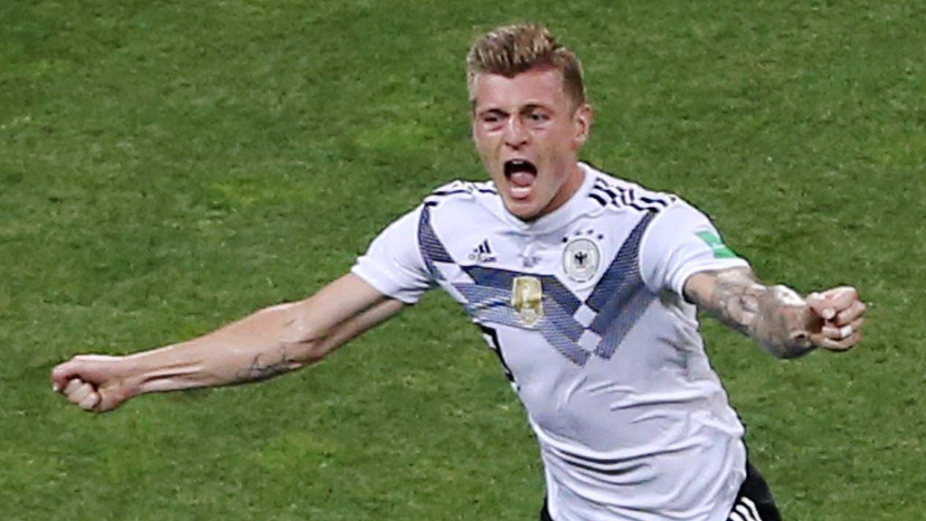 World Cup 2018: Germany revive World Cup hopes with late winner over Sweden