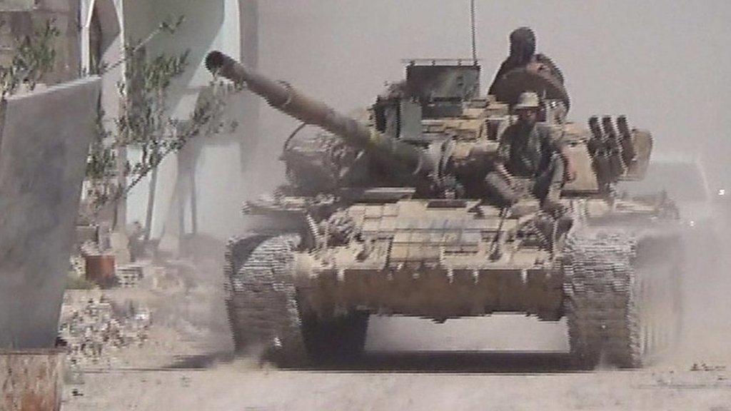 Inside Douma: Where 'chemical weapons' hit