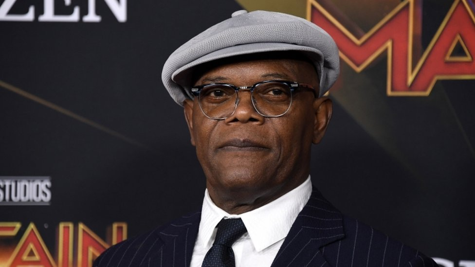 Truth or Not? Marvel star Samuel L Jackson visits Westminster