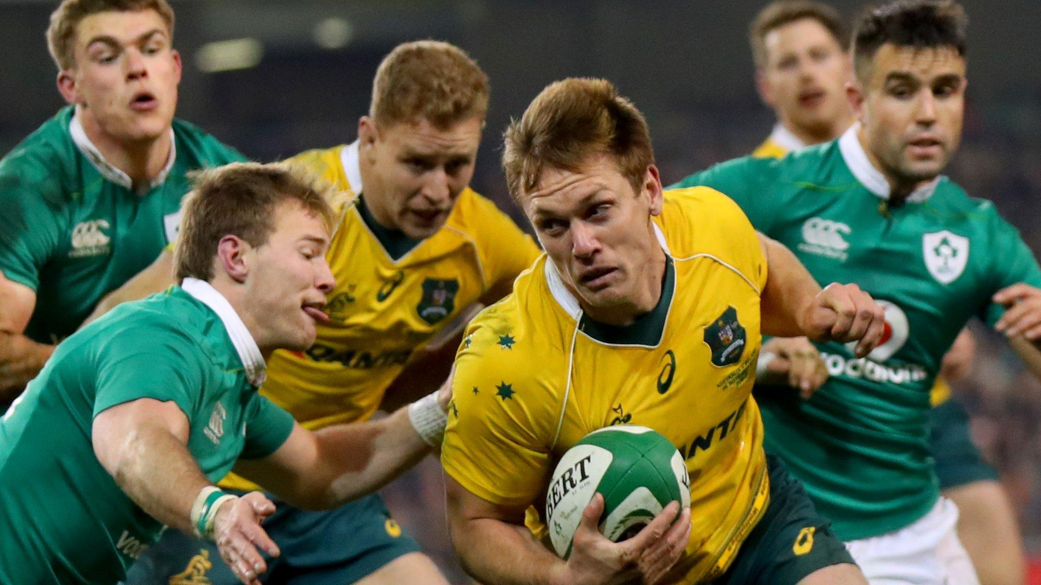 Ireland to meet Australia in three-Test series in 2018