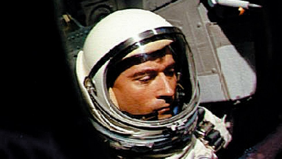 John Young en la misión Gemini 3 de 1965