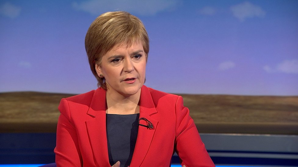 Nicola Sturgeon says MSPs at Holyrood could veto Brexit