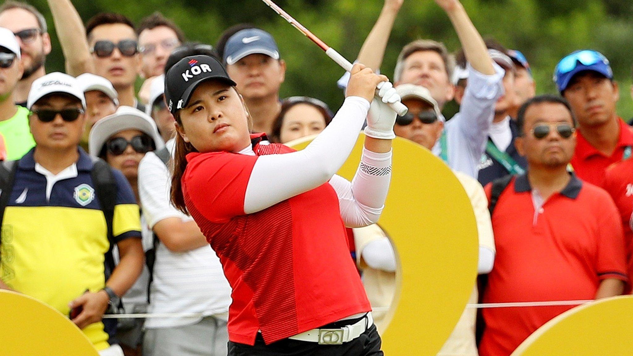 South Korea's Park wins Olympic golf gold