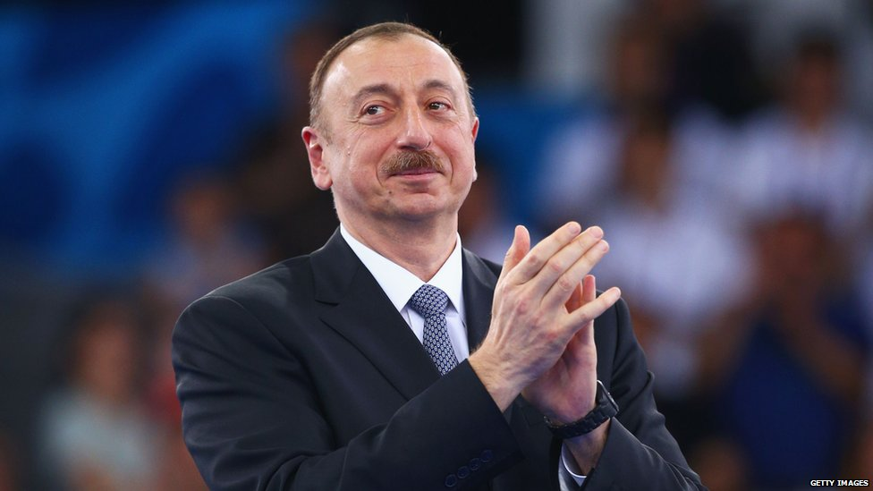 Azerbaijani President Aliyev