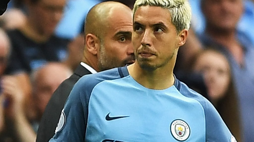 Nasri one of seven to leave Man City in deadline day loans