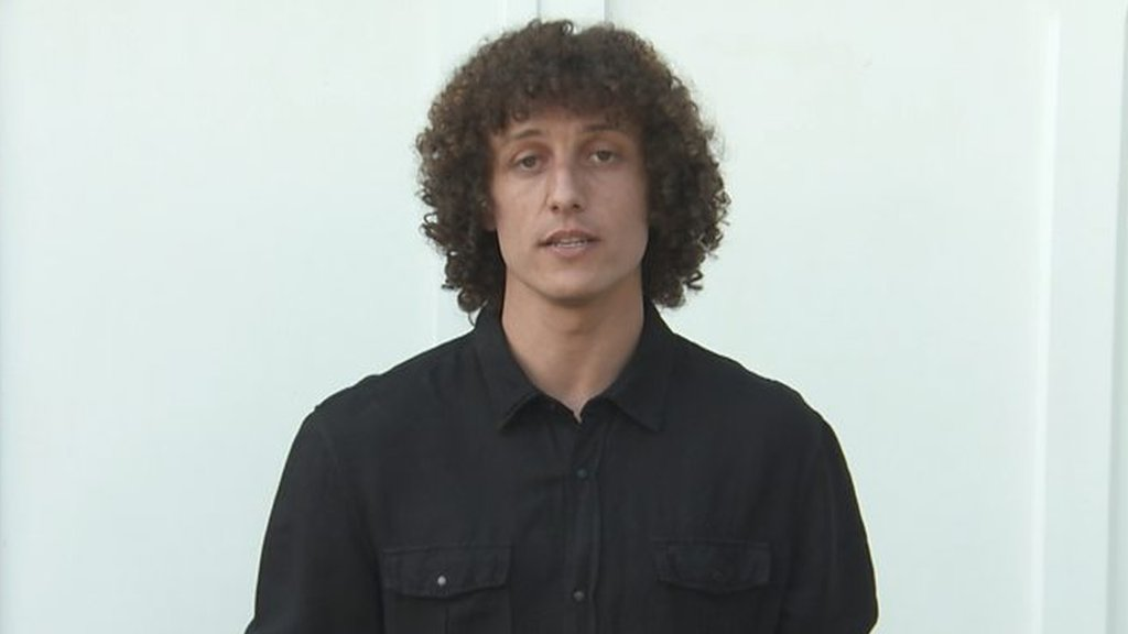 Chelsea's David Luiz pays tribute to people of Manchester