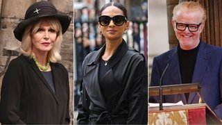 Stars pay tribute at Sir Terry memorial