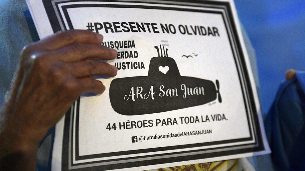 Argentina submarine: ARA San Juan found