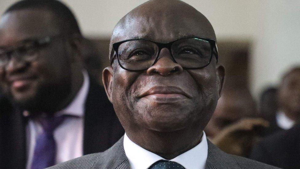 Nigeria's top judge Walter Onnoghen to forfeit bank accounts