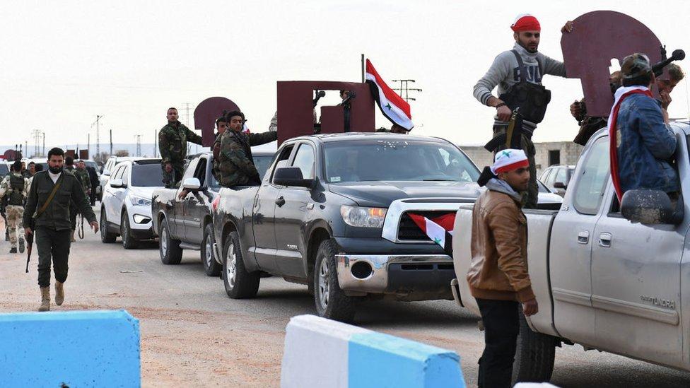 Війська Асада увійшли до курдського анклаву, який прагне захопити Туреччина