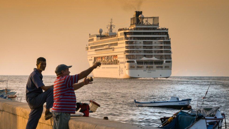 Los viajes desde Estados Unidos a Cuba han aumentado.