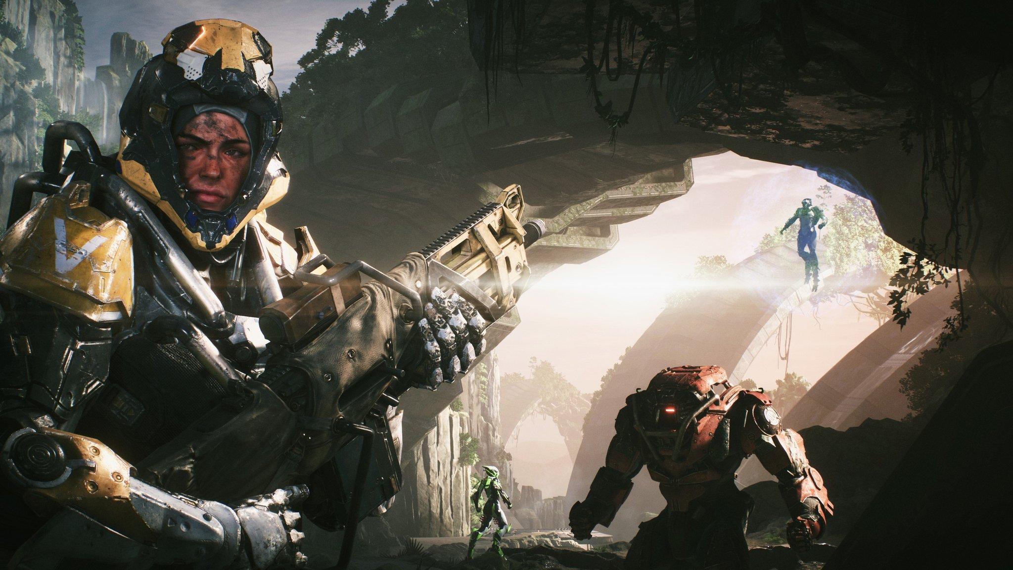 Anthem video game set for tough debut