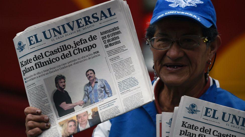 Los medios mexicanos siguen la controversia alrededor de Kate del Castillo