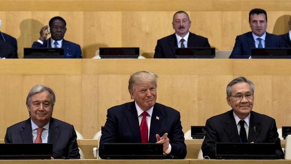 Donald Trump: The UN has not reached its potential