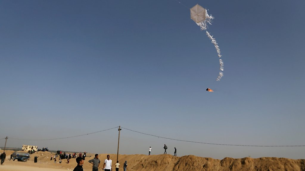 Truth or Not? How kites and balloons became militant weapons