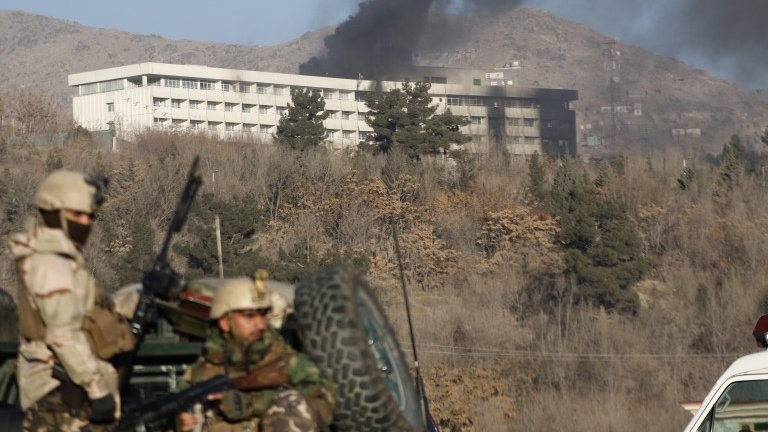 Kabul: Afghan forces end Intercontinental Hotel siege