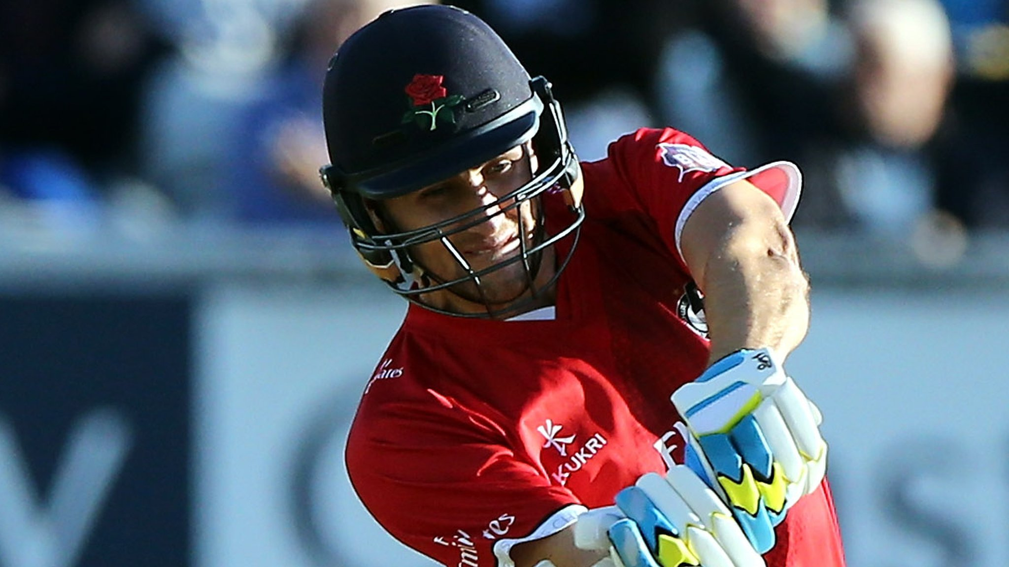One-Day Cup: Liam Livingstone makes 98 as Lancashire beat Derbyshire