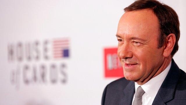 """Spacey ha sido acusado de acoso sexual por trabajadores de la serie """"House of Cards""""."""