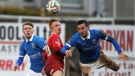 Portadown proved a thorn in the side of Linfield last season