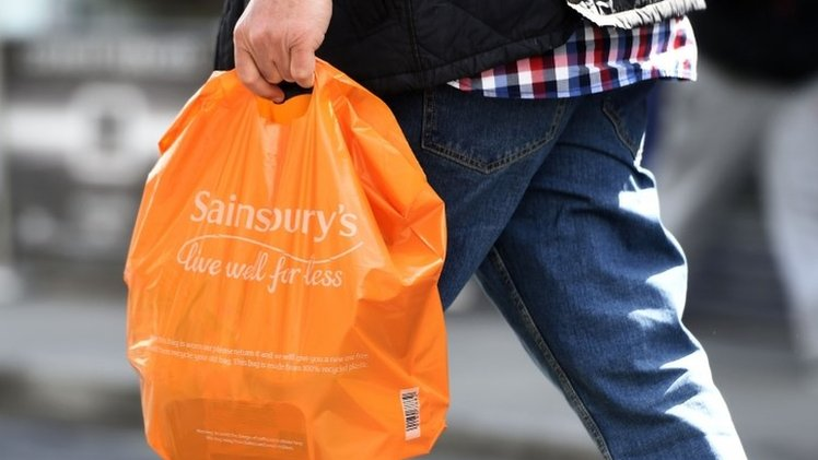 Sainsbury's sales slip as food prices continue to fall