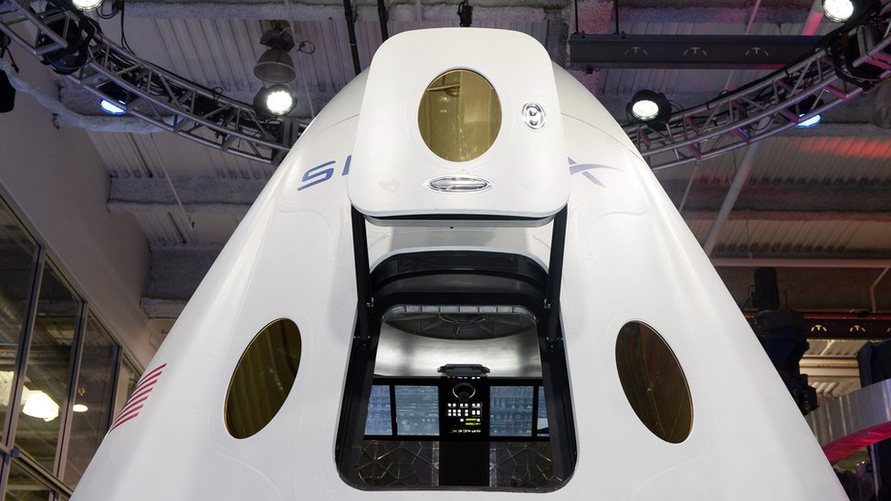 Nave en SpaceX