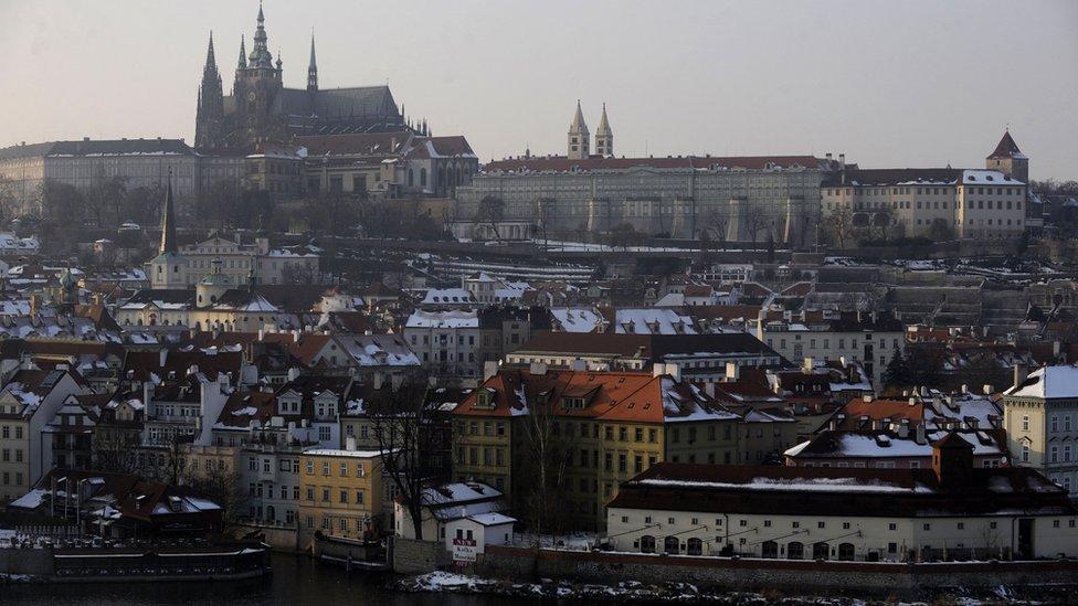 Битва за Празький Град у Чехії в розпалі