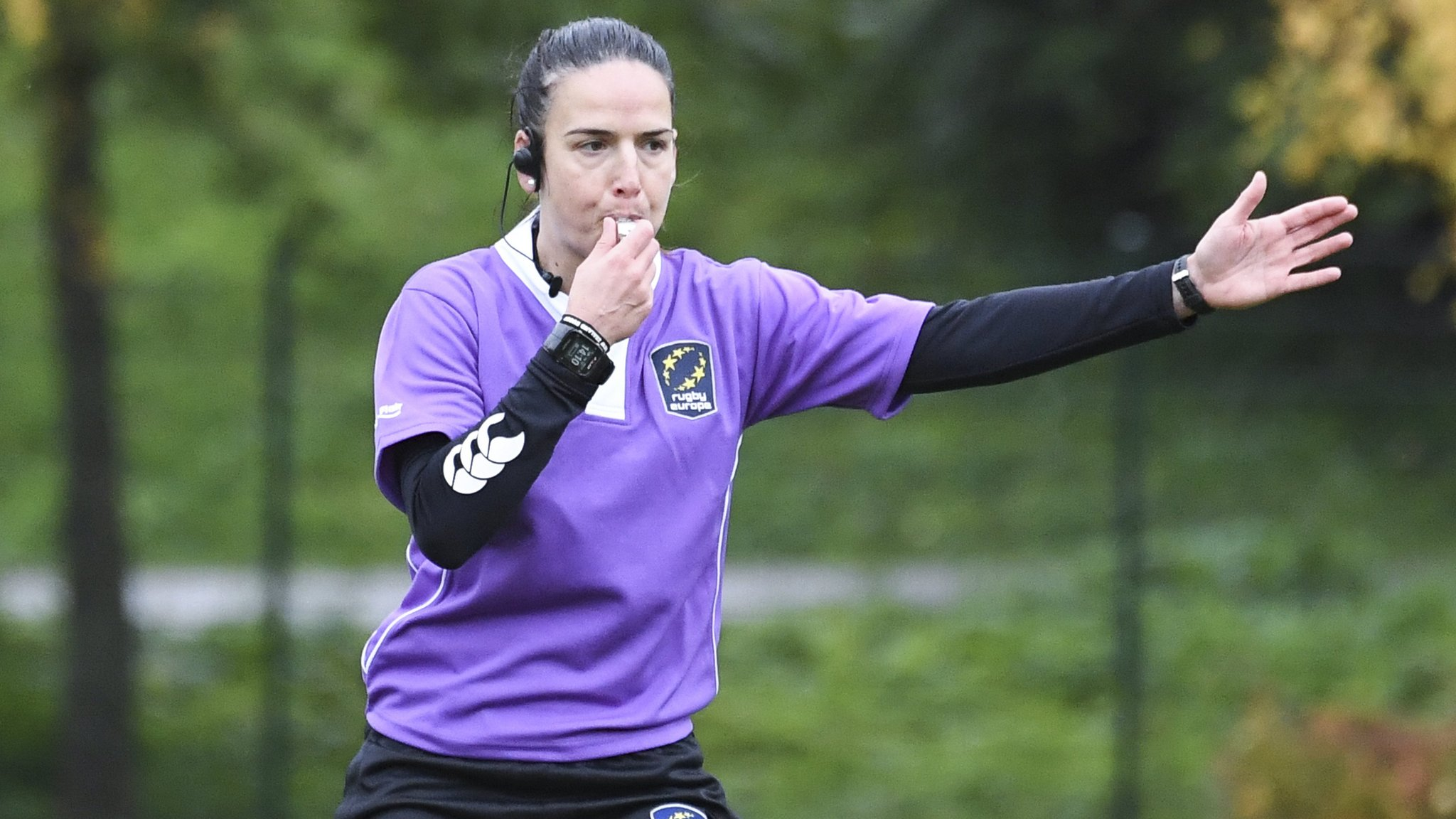 Female referee Nievas hopes to 'create a pathway' for other women