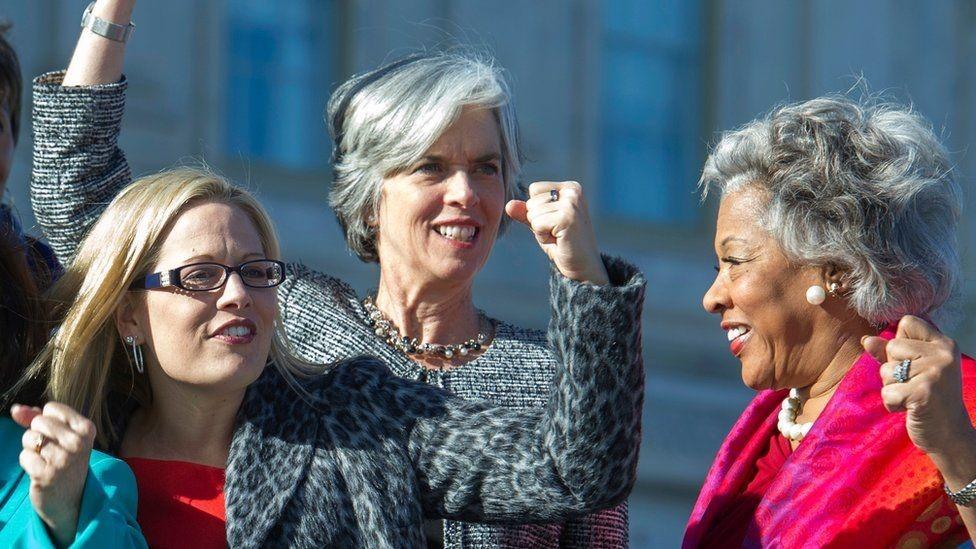 صورة بعض النائبات في الحزب الديمقراطي