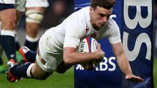 England in Six Nations action