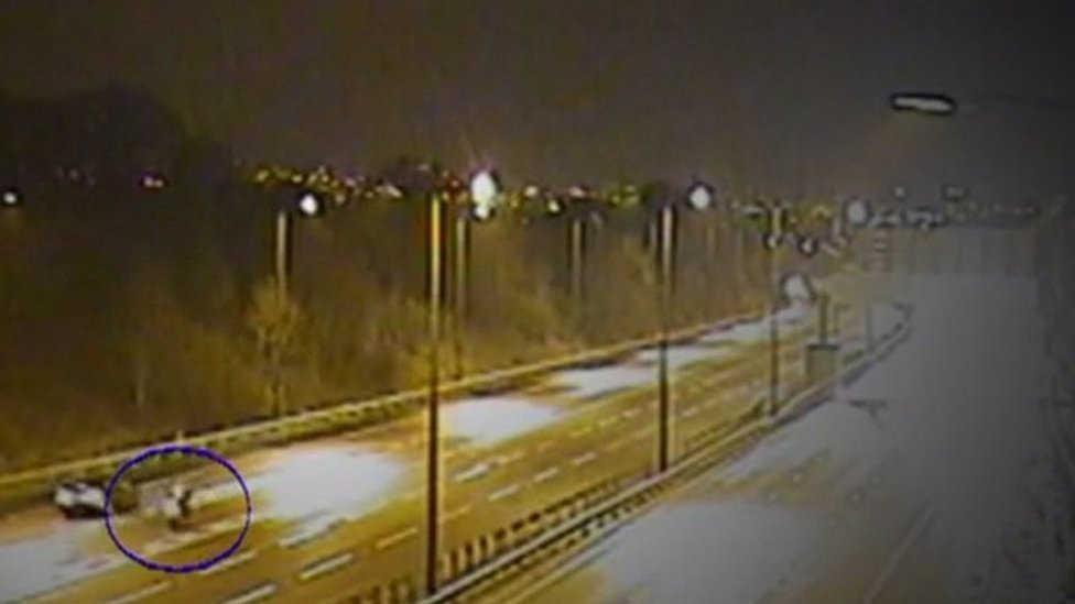 Driven to his death: Mystery of motorcyclist body on M4