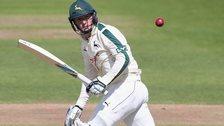 Nottinghamshire batsman Greg Smith