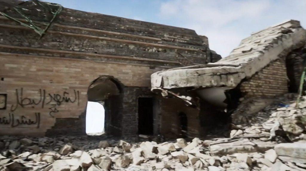 El sorprendente tesoro arqueológico hallado bajo una mezquita que Estado Islámic ...