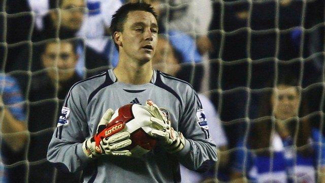 John Terry: Chelsea captain, leader, legend... goalkeeper