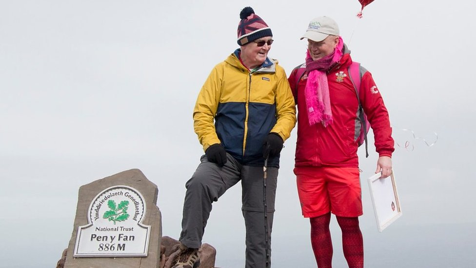 Des Lally: The man who climbed Pen y Fan every day for a year