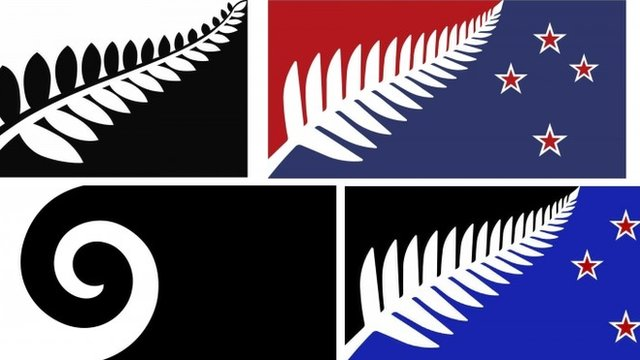 VIDEO: Final four designs for new NZ flag...
