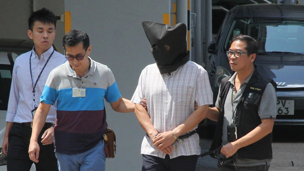 Hong Kong yoga ball: Man found guilty of killing wife and daughter