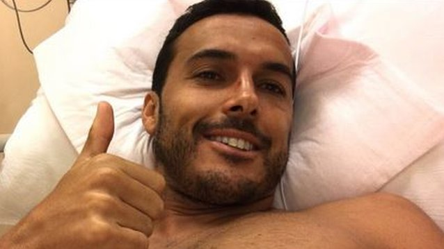 Pedro has 'multiple fractures' but should be training in 10 days