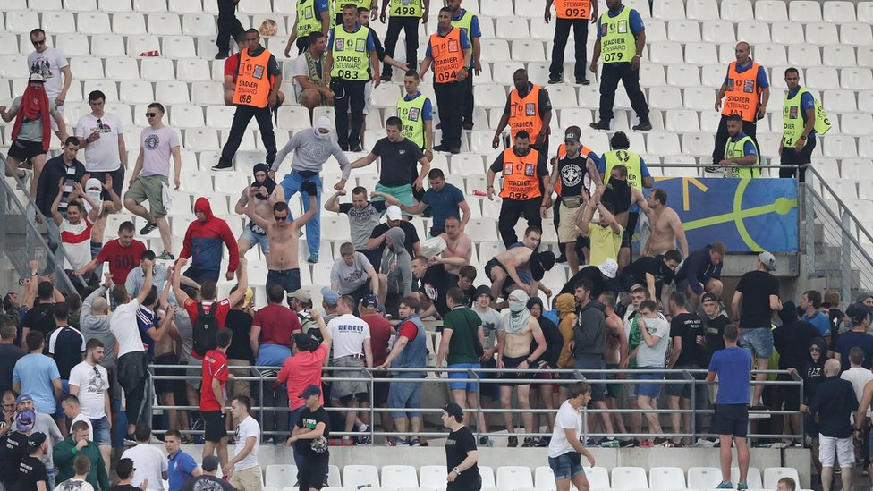 Is Russia Exporting A New Breed Of Football Hooligan Bbc News