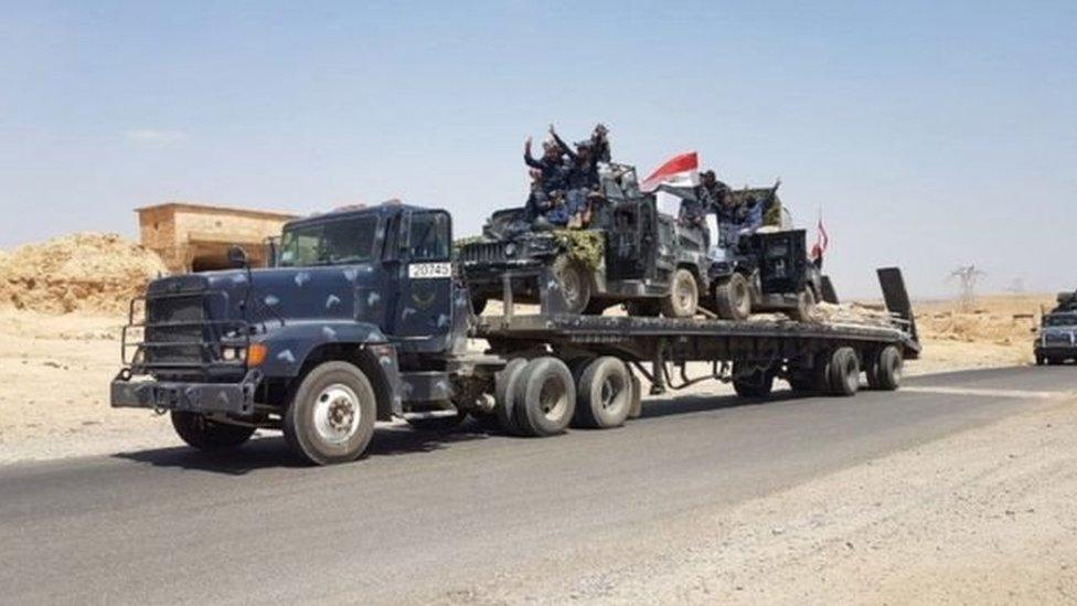 القوات العراقية تزحف نحو تلعفر