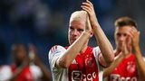 Davy Klaassen of Ajax applaudes the fans