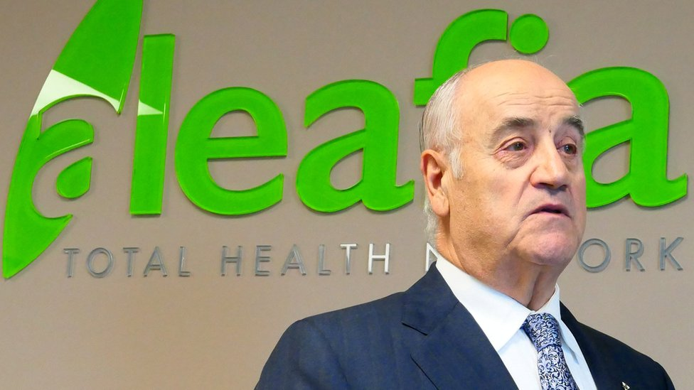 Julian Fantino, exjefe de la policía ha sido criticado por entrar en el negocio del cannabis en Canadá.