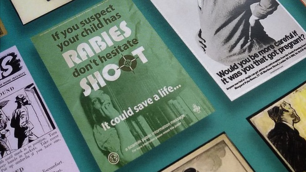 Government admits rabies poster gaffe