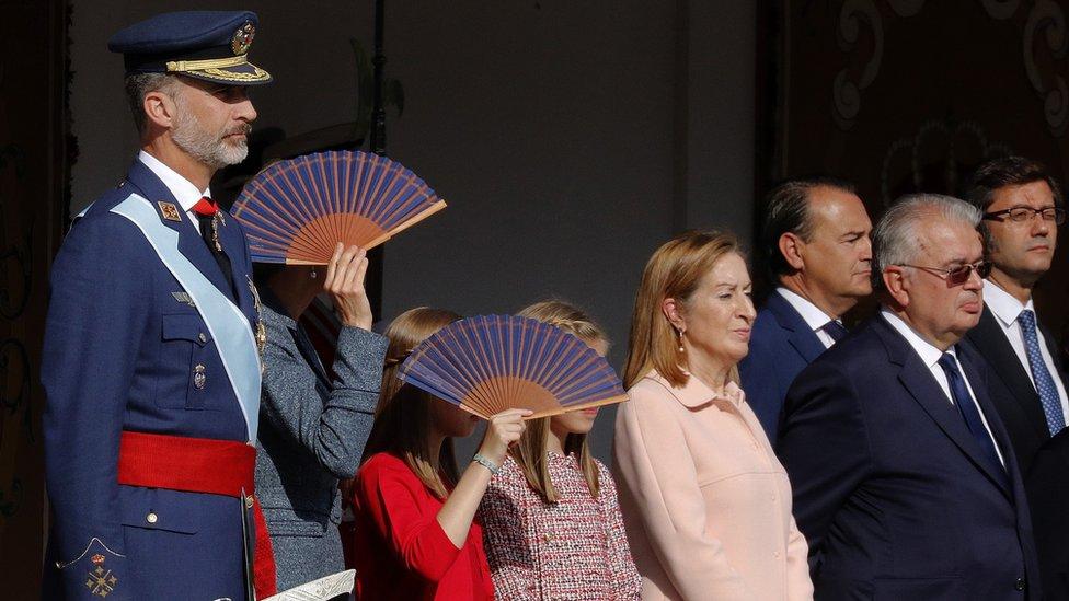 Spanyol, Madrid, Raja Felipe